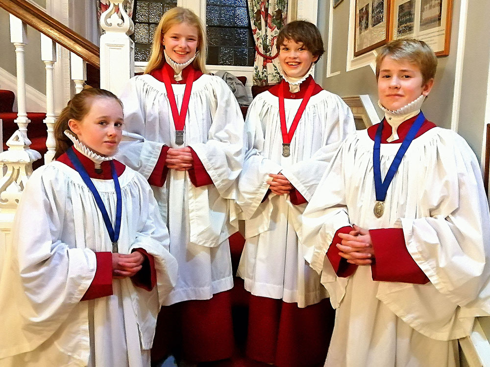 Chorister Heads at Belhaven Hill School